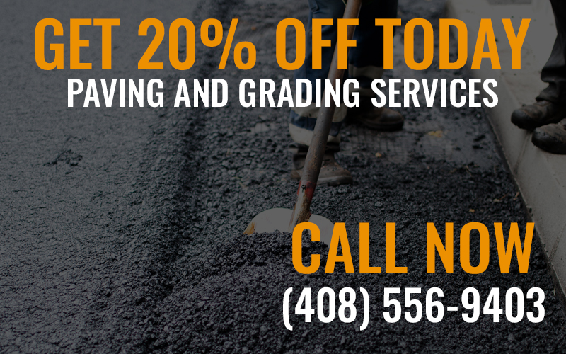 20% off paving services
